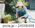 Japanese woman golfer , housewife 24506408