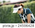 Japanese woman golfer , housewife 24506428