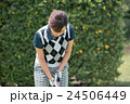 Japanese woman golfer , housewife 24506449