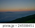 満月 富士山 雲海の写真 24508451