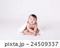 赤ちゃん、お座り 24509337
