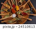 インドのスパイス集合写真 Spice India dish of the curry 24510613