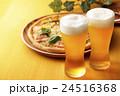 ビールとピザ 24516368