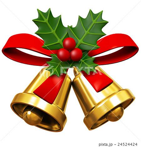 クリスマスベルのイラスト素材 24524424 Pixta