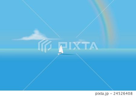 クルージング(虹) 24526408