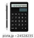 電卓とボールペン 24528235