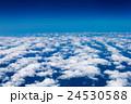 飛行機からの雲海(東京〜福岡間) 24530588