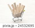 ショッピングカートの材木 24532695