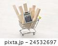 ショッピングカートの材木 24532697
