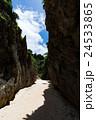 備瀬のワルミ 岩 岸壁の写真 24533865