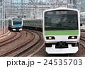 山手線と京浜東北線 24535703