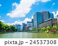 ビル ビル群 オフィスビルの写真 24537308
