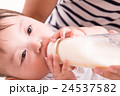 赤ちゃん ミルク 子育ての写真 24537582