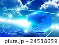 ネットワーク 地球 通信のイラスト 24538659