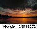 浜名湖の夕暮れ 24538772