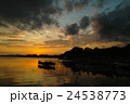 浜名湖の夕暮れ 24538773