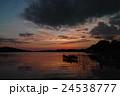 浜名湖の夕暮れ 24538777
