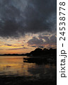 浜名湖の夕暮れ 24538778