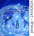 世界のインターネットの時計 24542624