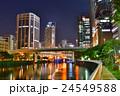 大阪 土佐堀川 高速道路の写真 24549588