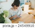 Japanese woman golfer , housewife 24549910