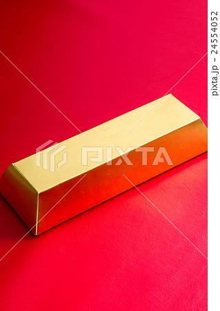 ペーパークラフトの金の延棒 24554052