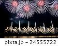 新潟県 長岡まつり花火大会の花火 24555722