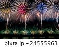 新潟県 長岡まつり花火大会の花火 24555963