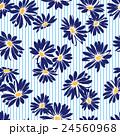 花 花柄 マーガレットのイラスト 24560968