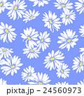 花 花柄 マーガレットのイラスト 24560973