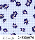 花 花柄 マーガレットのイラスト 24560979