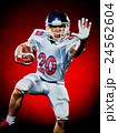 american football player man isolated 24562604