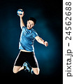 man handball player isolated 24562688