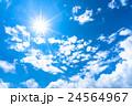 空 青空 雲の写真 24564967