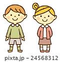 幼児 男の子 女の子のイラスト 24568312
