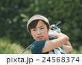 Japanese woman golfer , housewife 24568374