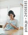 Japanese woman golfer , housewife 24568385