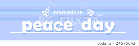 World Peace Day Banner International Holiday 24575642