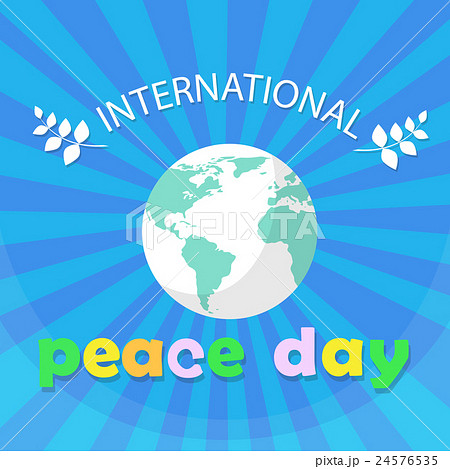 World Peace Day Earth International Holiday Poster 24576535