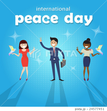 Diverse People Group International Peace Holiday 24577451