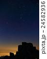 金峰山・五丈岩とオリオン座 24582936