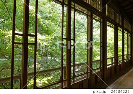 日本建築のガラス窓 24584225