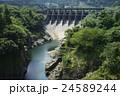 神通峡 夏 神通川の写真 24589244