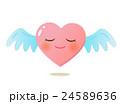 やさしさハートの天使キャラクター 24589636