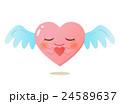 やさしさハートの天使キャラクター 24589637