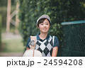 Japanese woman golfer , housewife 24594208