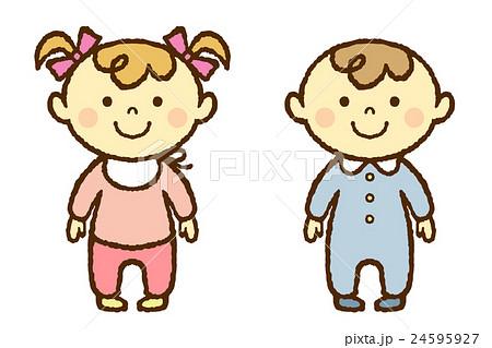 赤ちゃん 男の子 女の子 24595927