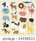動物 コレクション 集のイラスト 24598521