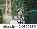 Japanese woman golfer , housewife 24602835