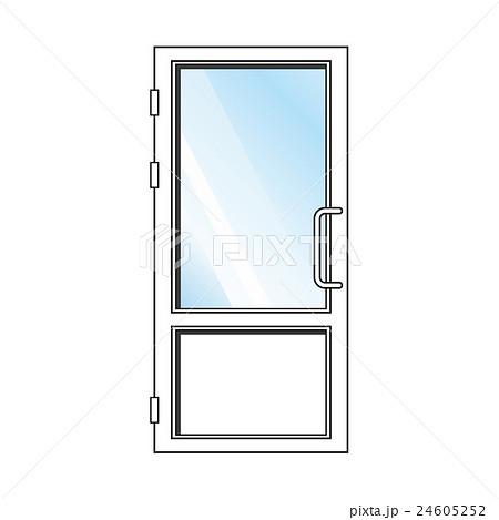 Vector glass door 24605252